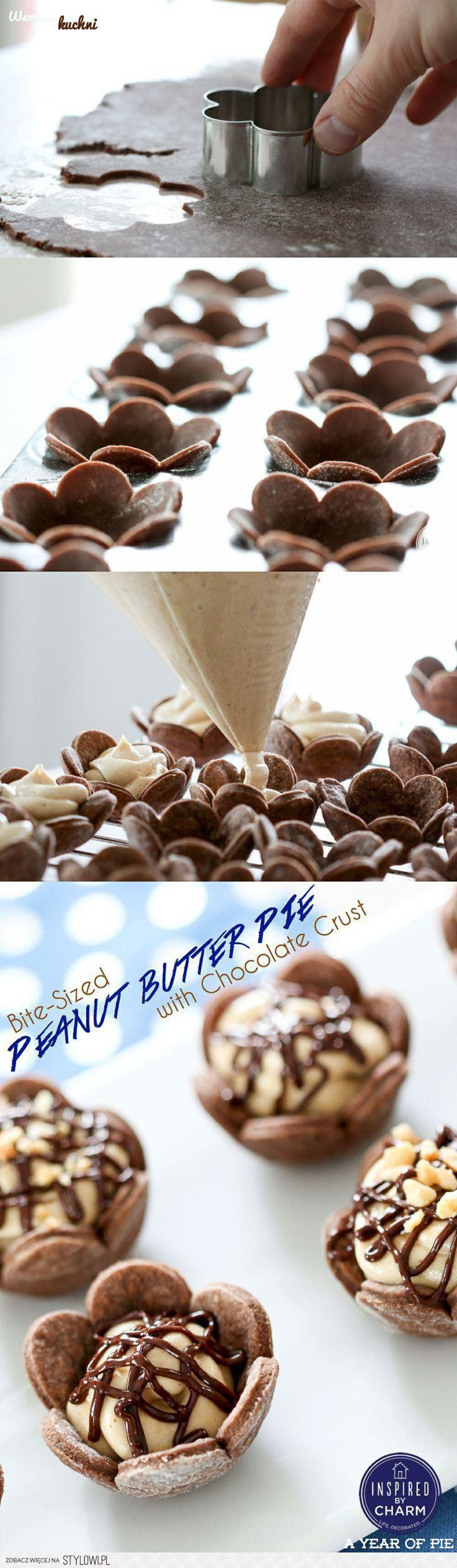 Zobacz jak zrobić czekoladowe babeczki - kwiatuszki z b… na Stylowi.pl