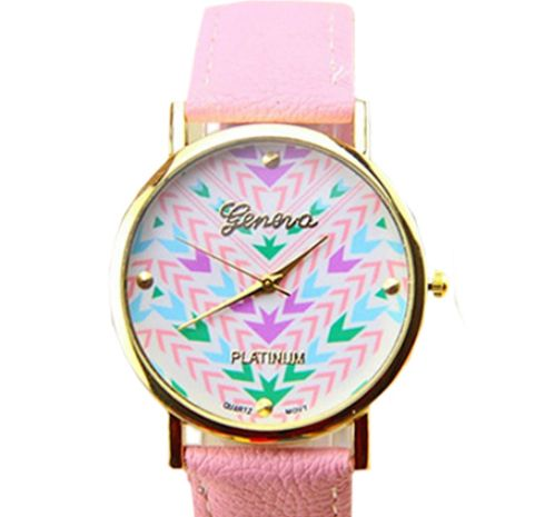 #peachiecream http://www.peachiecream.co.uk/#!product/prd1/3471756381/arrow-print-pink-watch