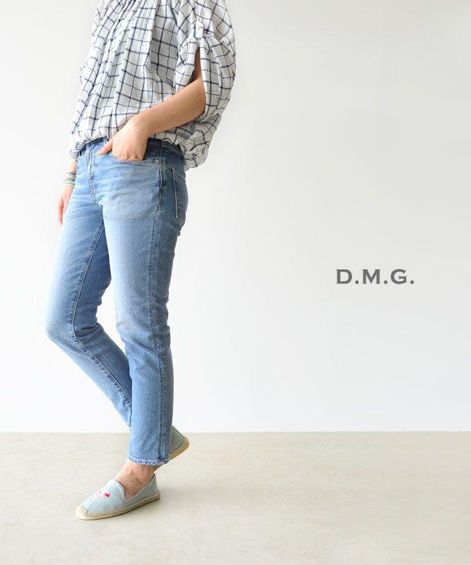 【楽天市場】ブランド別> 【D】> D.M.G.(dmg/ドミンゴ)> 5Pアンクルスリムデニム:Crouka(クローカ)