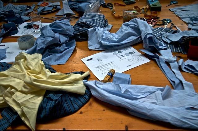 upcycling shirts