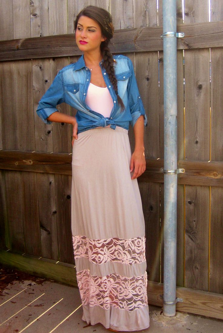 Taupe And Pink Lace Maxi Skirt | Clothes And Accessories | Pinterest | Taupe Lace And Maxi Skirts