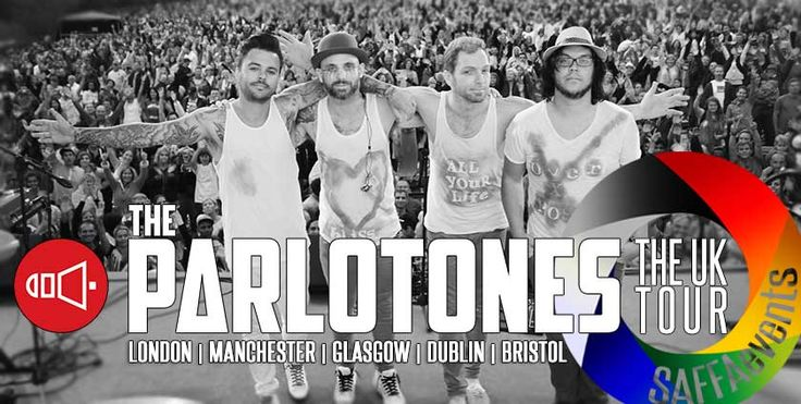 #Parlotones are coming back to the #UK. Yes! Do you have your #tickets yet?