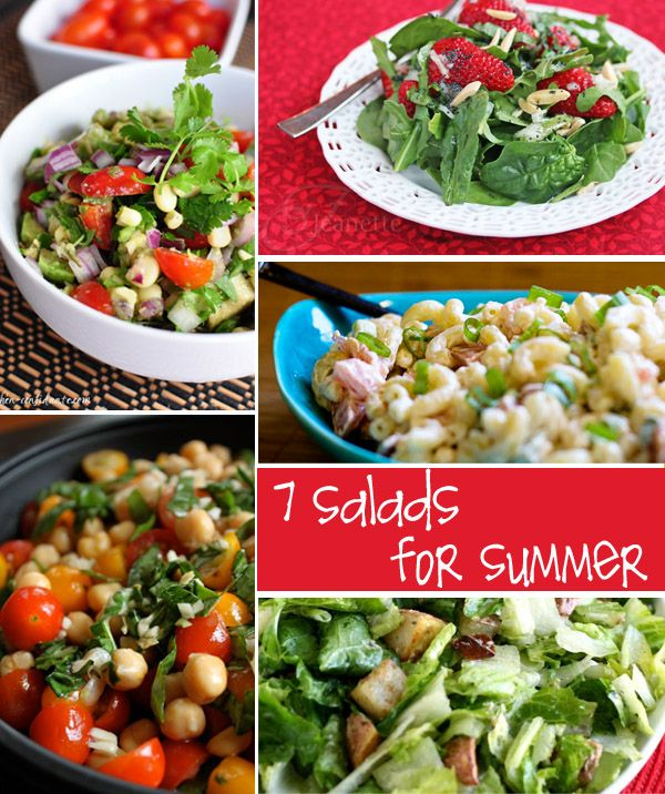 Fresh Salad Recipes for Summer | creative gift ideas