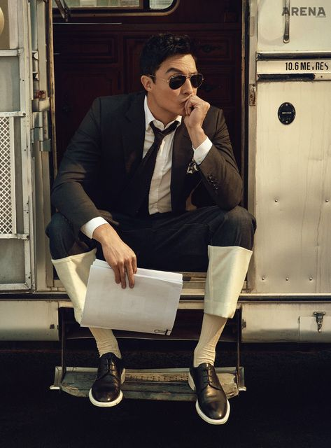 Daniel Henney Pictorial For April Arena | Couch Kimchi