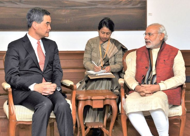 The First Mail | CY Leung Calls On PM Modi