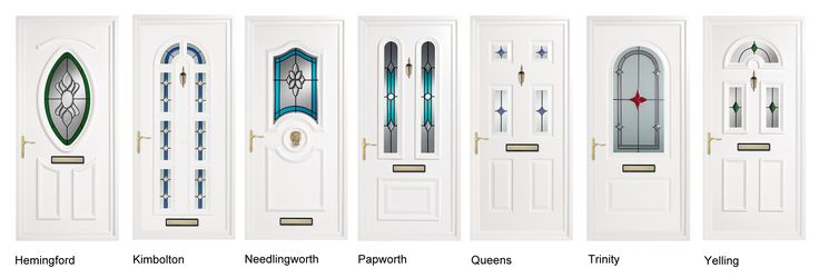 A whiter shade of pale. Who says white doors have to be vanilla? Coloured glass adds the vibrant touch in our range