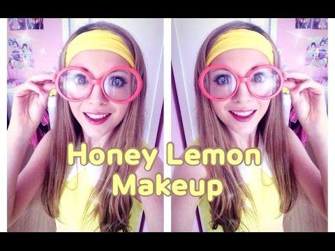 Honey Lemon Cosplay Makeup Tutorial from Disney's Big Hero 6 - YouTube