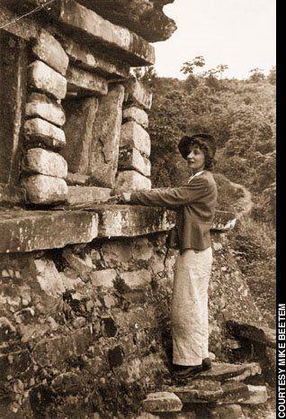 Tatiana Proskouriakoff, scholar of Mayan architecture and hieroglyphics.