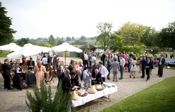 Drinks & Canape Reception in the courtyard