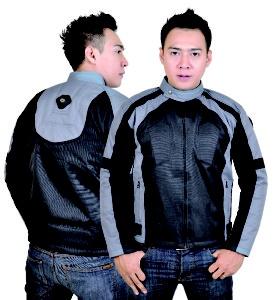 Jaket biker terbuat dari bahan yang tebal seperti bahan kulit, karena tujuan jaket ini agar mampu melindungi diri saat mengendari sepeda motor.