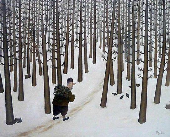 by Valentin Gubarev (b1948 In Nizhny Novgorod) | Прекрасное одиночество