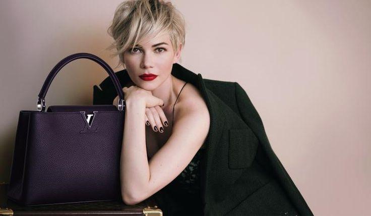 En coulisses avec Michelle Williams pour Louis Vuitton