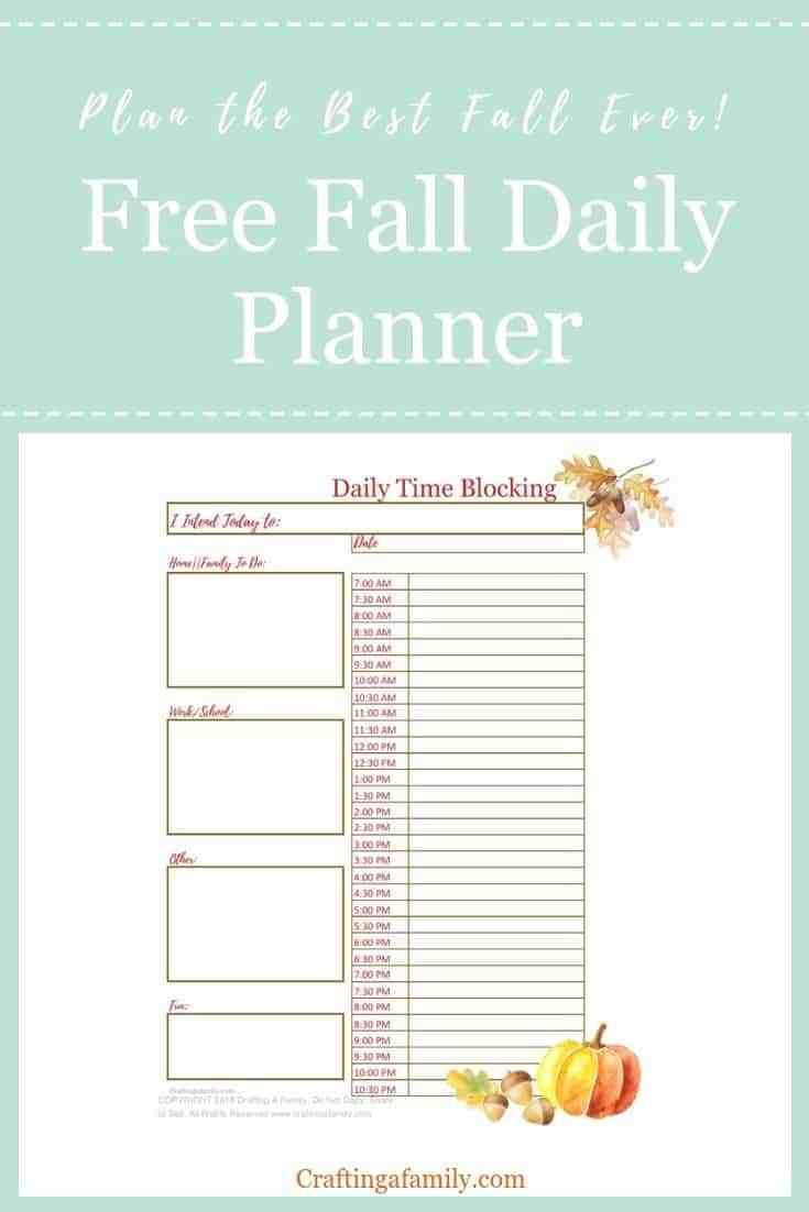 Free Time Management Worksheet You Love To Stay Active In Fall Apple Picking Pumpkin Patches Footb Time Management Worksheet Daily Planner Time Management