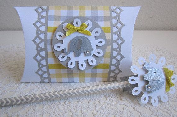 Elephant Favor Boxes Elephant Party FavorsBaby Favor by ByAdalynn
