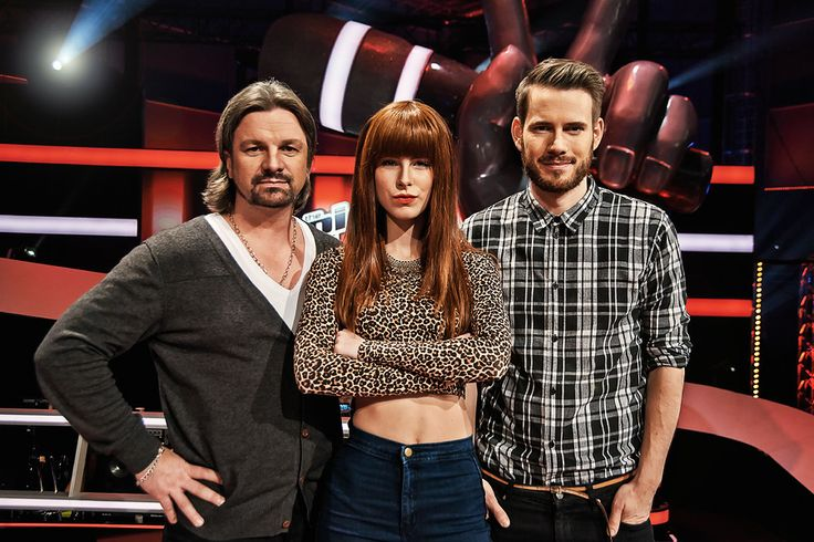 The Voice Kids 2014 Henning Wehland, Lena-Meyer Landrut❤️, Johannes Strate