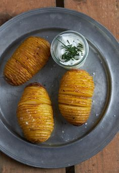 Besser als Pommes – Kartoffelfächer oder ganz fancy auch Hasselback Potatoes genannt | tastesheriff