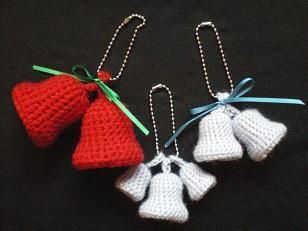 クリスマスベルの作り方 編み物 編み物・手芸・ソーイング ハンドメイドカテゴリ ハンドメイド、手作り作品の作り方ならアトリエ