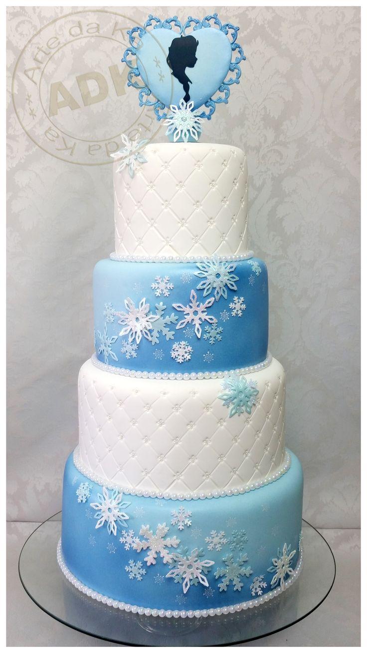 Elsa Frozen - Cake