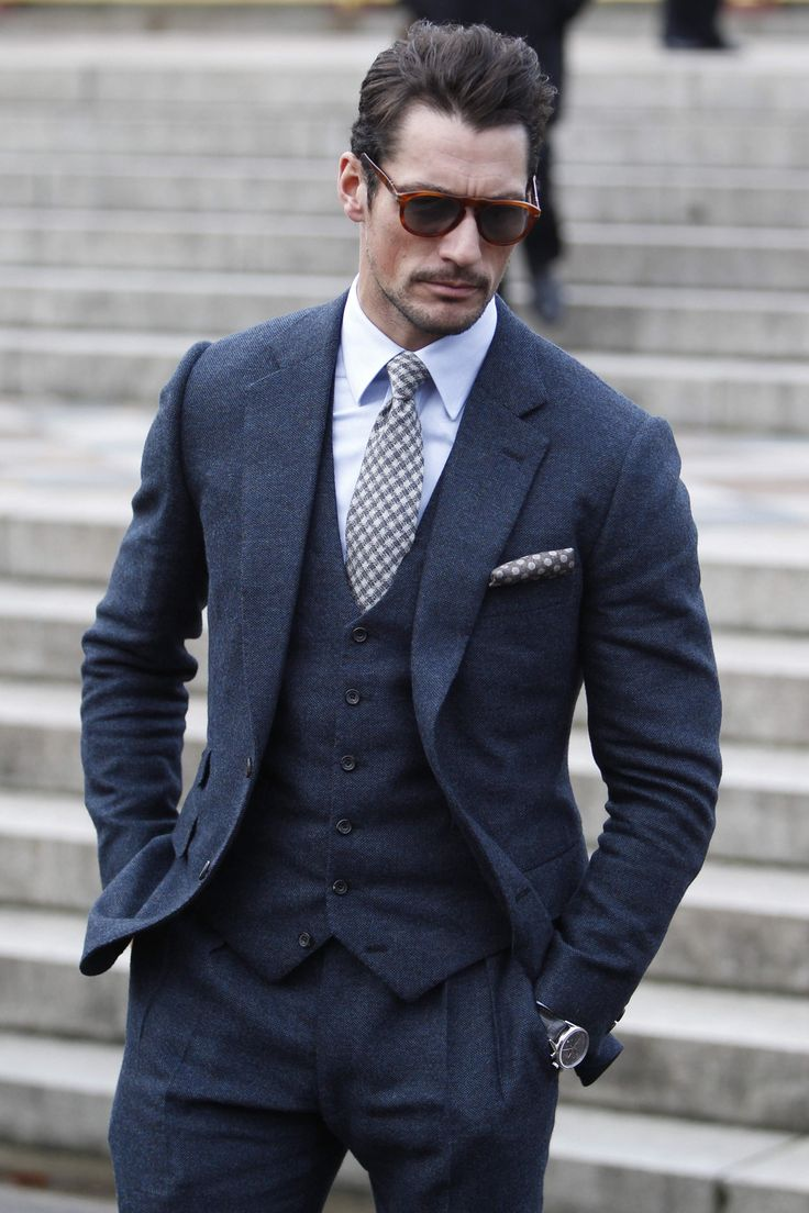 Where: Burberry Prorsum show, London, UK When: 8 January 2014 Wearing: Thom Sweeney suit and Persol sunglasses