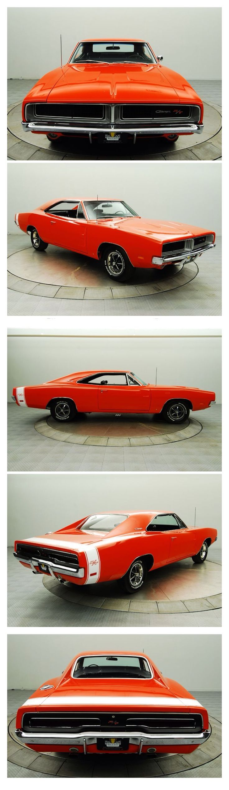 1969 Dodge Charger R/T My dad has a 2011 Dodge Charger and wow it looks way different