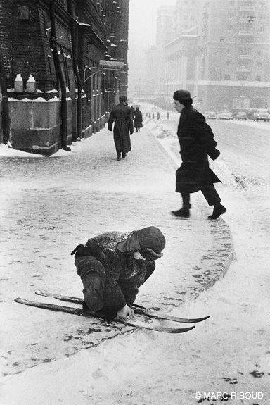 Marc Riboud, Moscow, 1960.