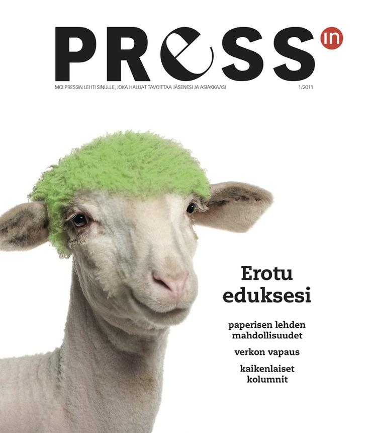 Pressin 1/2011 (Versio 2). Lue lehti: http://www.issuu.com/mcipress/docs/pressin0111