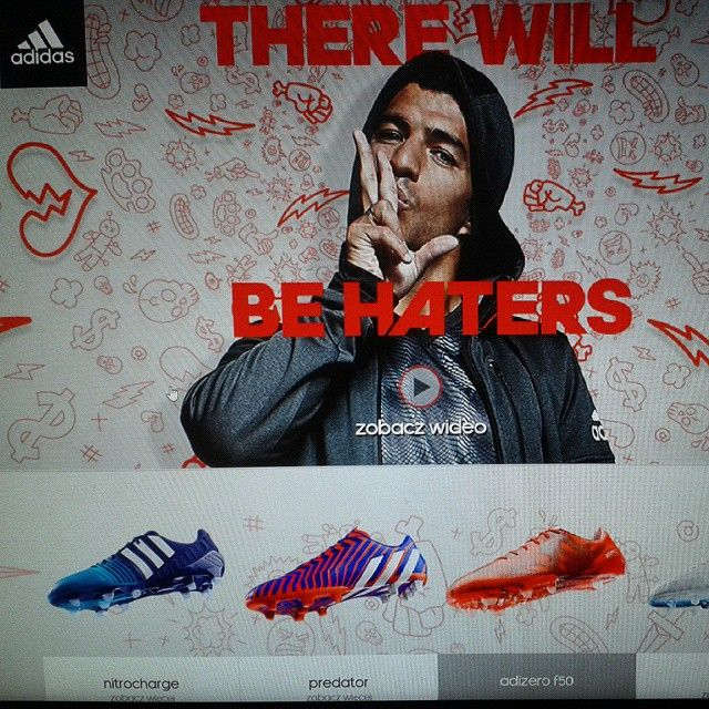 Our work for #adidas #landingpage #ecommerce