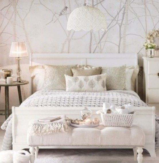 Simple White bedroom Decorating ideas for glamorous bedrooms Bedroom Glamour Decor Ideas housetohome For Your House - Elegant neutral bedroom ideas