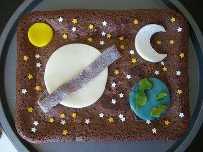 """SUCRISSIME: le gâteau """"Système Solaire"""""""