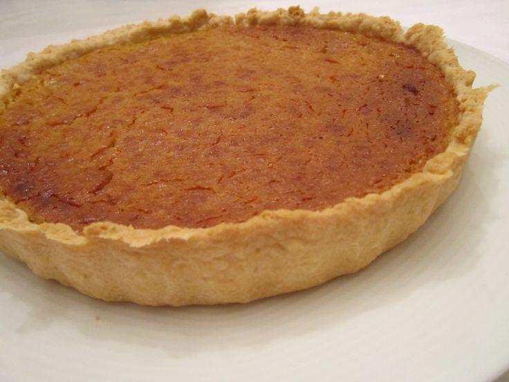 Pumkin cake with lentils - Tarta de calabaza con lentejas - http://www.legumechef.com/