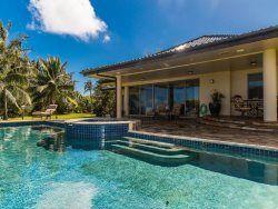 Mele Makani 2 bedroom Estate with Private Pool, hot tub and AC Kauai Condo Rentals   Kauai Vacation Homes   Kauai Real Estate