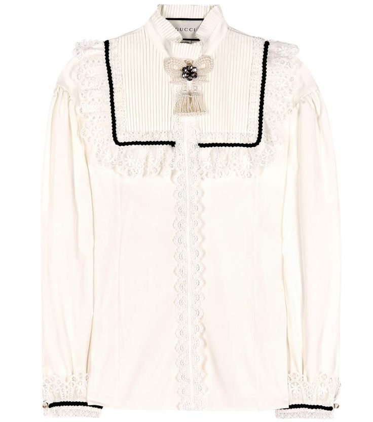 mytheresa.com - Cotton Shirt - Gucci | mytheresa - Luxury Fashion for Women / Designer clothing, shoes, bags