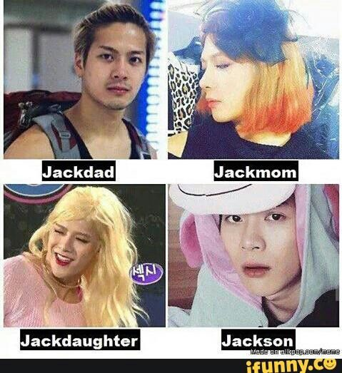 The Jack family everyone GOT7