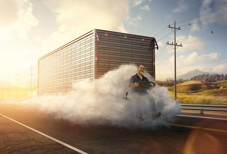 Ford Trucks ATM on Behance