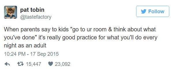 Funny Relatable Tweets