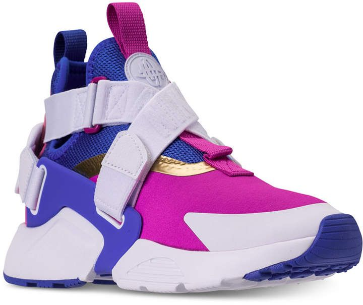 Boys' Air Huarache City Casual Sneakers