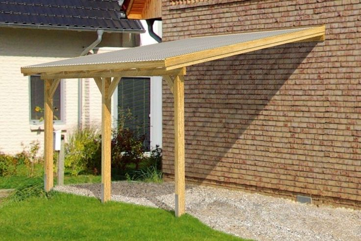 **DIY Timber Supported Lean To Roof Kit** 6M Wide 3M Long **Canopy, Carport** | eBay