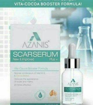 Azanis Scar Serum Plus   Vita Cocoa Booster Formula Butter New