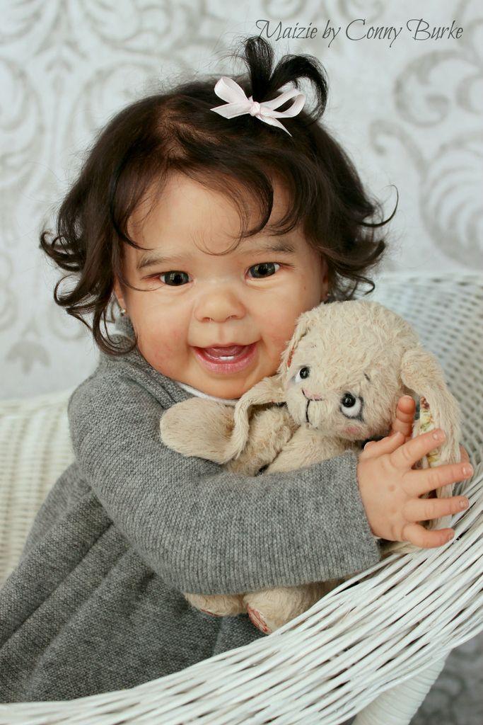 Reborn Baby Doll Maizie by Andrea Arcello by Conny Burke in Dolls & Bears, Dolls, Reborn | eBay