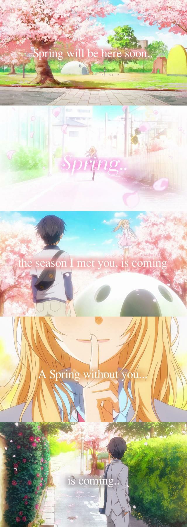 Anime: Shigatsu wa kimi no uso - Your lie in April Source: http://karunase.tumblr.com