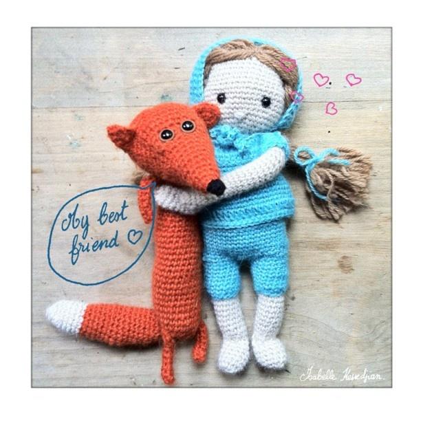 Poupinette et le renard Isabelle Kessedjian