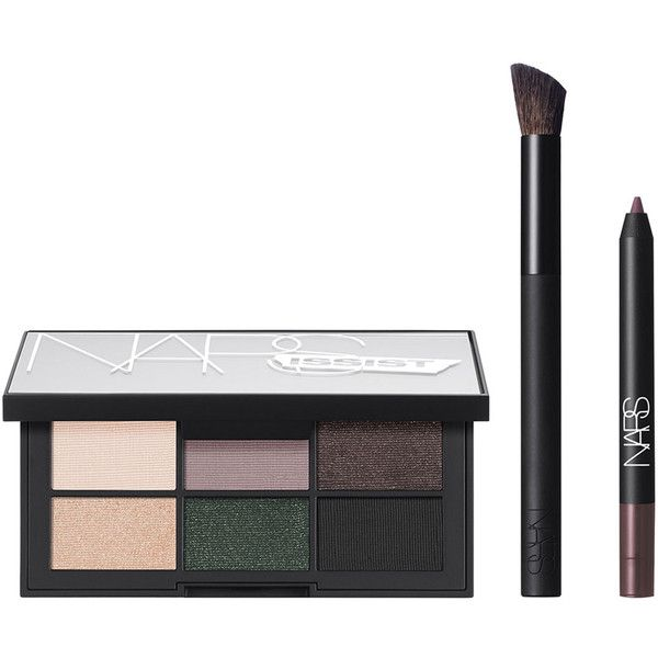 NARS Limited Edition NARSissist Hardwired Eye Palette found on Polyvore featuring beauty products, makeup, eye makeup, eyeshadow, nars cosmetics and palette eyeshadow