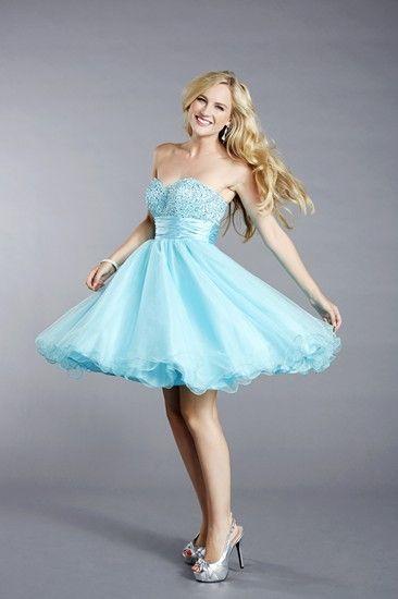 A really beautiful short party dress by Tiffanys UK
