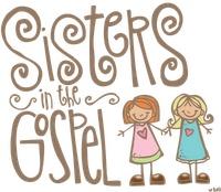 Sisters in the GospelRelief Society Sisters, Lds Illustration, Gospel, Church, Printables Goodies, Clipart, Clip Art, Melonheadz Lds, Clips Art