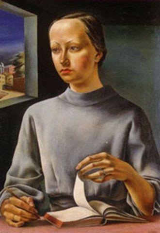 La muchacha del libro, 1936: Obra de Antonio Berni