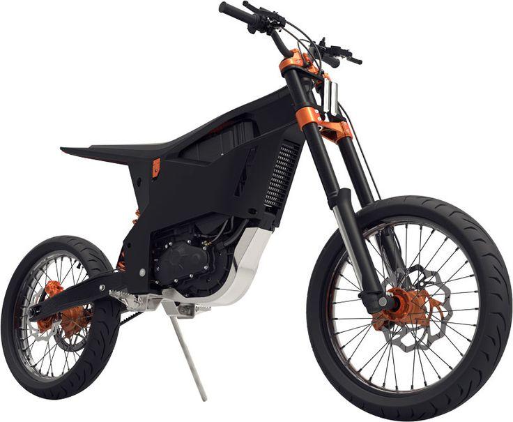 La KTM Delta de Benjamin Loigner revisite la moto urbaine typée Supermotard