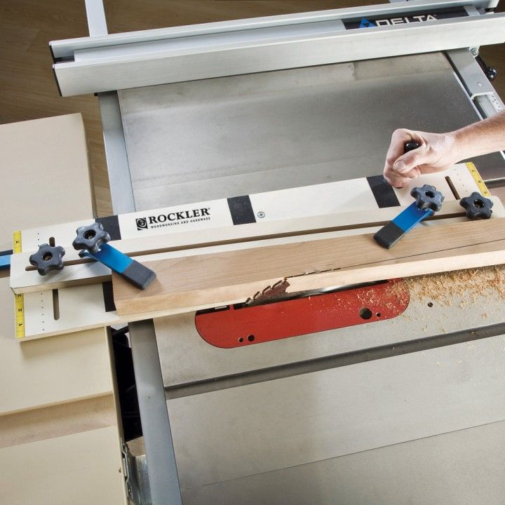 Jig makes tapered or straight line rip cuts faster  safer and easier. 146 best Table Saws images on Pinterest