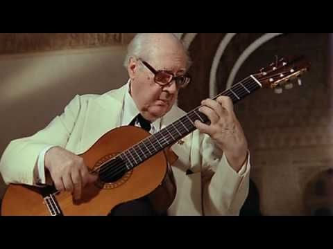 "Check http://players.guitar-tube.com/andres-segovia for more Segovia quality videos.  Master Segovia plays ""Leyenda"" composed by Isaac Albeniz."