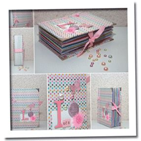 Tuto Mini Album réalisé avec des enveloppes par Aur0re. - Katia Art  Cor para baixar.