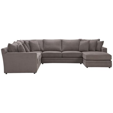 Andersen MKII Modular 2.5 Seat Right Hand, Corner, 2.5 Seat (Armless) & Chaise Left Hand | Freedom Furniture and Homewares